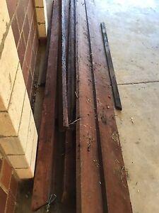 Jarrah roof beams (gone pending pick up) Noranda Bayswater Area Preview
