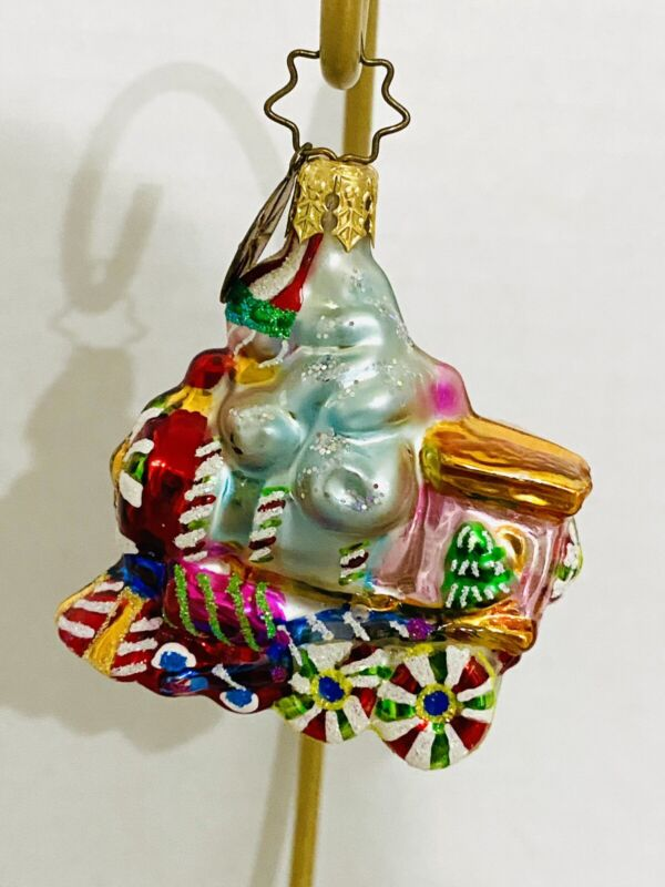 "Christopher Radko Sugarland Express Little Gem train ornament 2"""