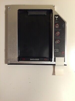 SATA HDD SSD Festplatten Caddy Einbaurahmen Adapter für Laptop Notebook 12,7mm (Laptop Ssd 7mm)