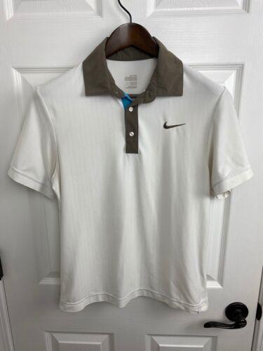 "Roger Federer Nike 2009 Miami Polo Shirt mens size ""Medium"" RF Tennis RAFA"