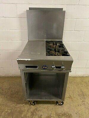Us Range 2 Burner Nat Gas With Portable Cabinet Tested