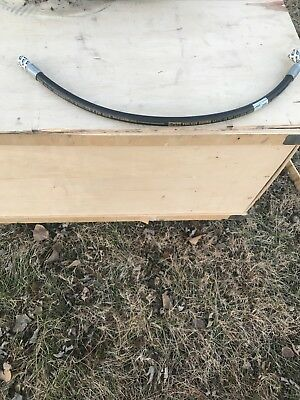Parker Hydraulic Hose Assembly 58 X 36 Tough Cover New