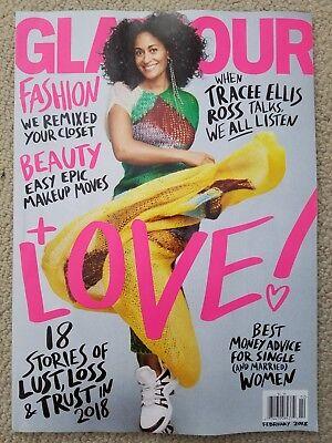 Tracee Ellis Ross Glamour Magazine February 2018