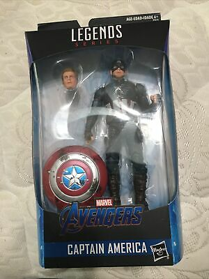 Marvel Legends Captain America Endgame Power and Glory Worthy Walmart Exclusive