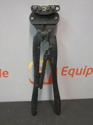 Amp Tyco Type O 69691 Hand Crimper Crimping Tool Ratchet Coaxicon