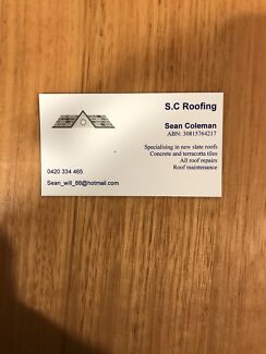 Wanted: S.C Roofing