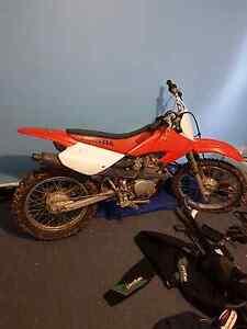 2002 xr80r honda dirt bike Rosebery West Coast Area Preview