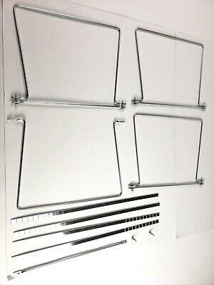 2 Pack Adjustable Hanging File Folder Frame Letter Size For Desk Cabinet Drawer