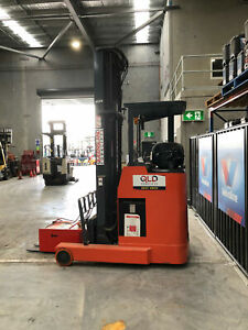 QBM FBRFW12 Reachtruck with sideshift Reach Forklift Luscombe Gold Coast North Preview