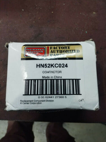 Carrier Universal HN52KC024 Replacement Contactor 2 Pole 30 FLA 24V Coil