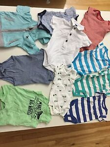 Baby boy clothes lot / onesis /