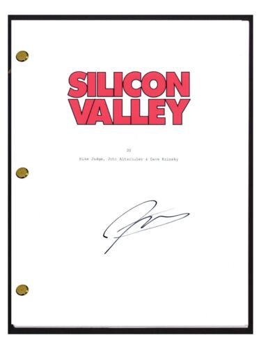 Jimmy O. Yang Signed Autographed SILICON VALLEY Pilot Episode Script COA