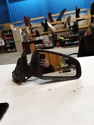 2006 AUDI A3 PASSENGER RIGHT SIDE DOOR MIRROR BLACK