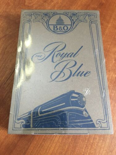 Royal Blue Notepads by Write Notepads & Co.;  B & O Railroad; New Sealed