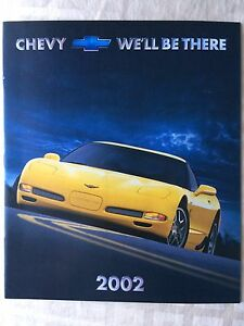2002 Chev Dealer Brochure 23 pages