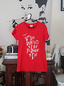Too Weird To Live Too Rare To Die Female T-Shirt Eden Hill Bassendean Area Preview
