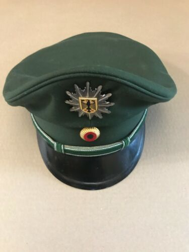 VINTAGE GERMANY POLICE POLIZEI HAT CAP BUNDES FEDERAL- ORIGINAL!