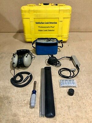 Subsurface Instruments Ld-12 Professional Water Leak Detector