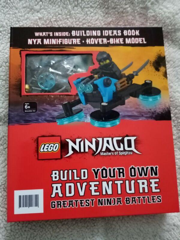 Lego+Ninjago+Build+Your+Own+Adventure+Greatest+Ninja+Battles+Book+%26+Vehicle+New+