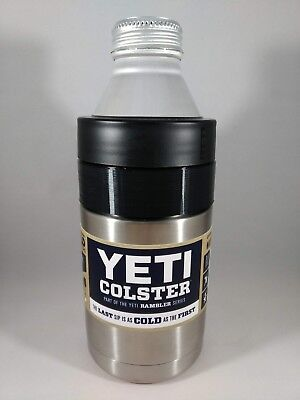 Yeti Colster 12oz to 16oz Rambler Adapter for 1 Pint Wide Mouth Twist Top Koozie (16 Oz Pint)