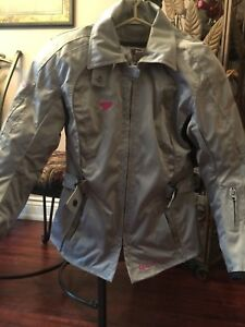 Ladies motorcycle riding jacket