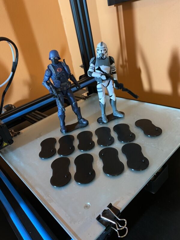 6 inch action figure stands (10) Per Pack