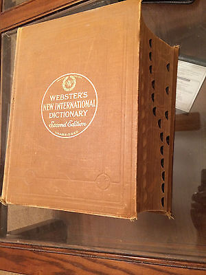 1949 Websters New International Dictionary Second Edition Good Condition