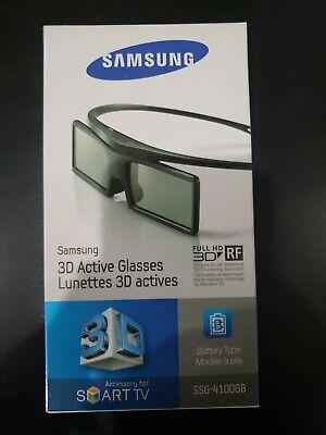 SAMSUNG 3D SMART TV ACTIVE GLASSES FULL HD New in Box SSG-4100GB