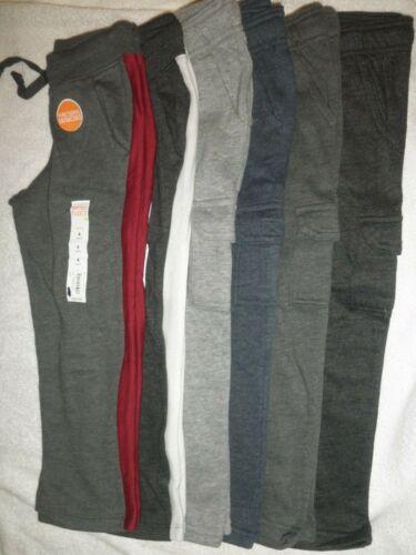 NWT Boys Jumping Beans Softest Fleece Cargo Pants or Straight Leg size 4 & 5