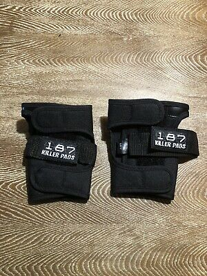 187 Killer Pads Wrist Guards Size Large, NEW NWOT Roller Derby Skateboarding
