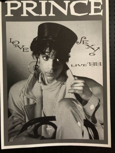 Prince-Love Sexy Live 88. Orig. Vintage Poster, FREE INT.SHIPPING