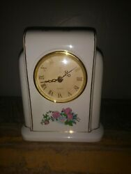 Vintage Ceramic PS 1996 Limited Edition Table Clock