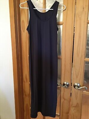 Lululemon Lab Noir Dress 8 Cadet Blue