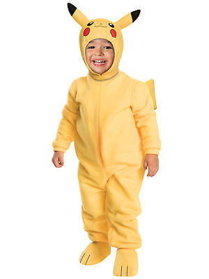 Pokemon Pikachu Romper Costume Toddler Size 2T