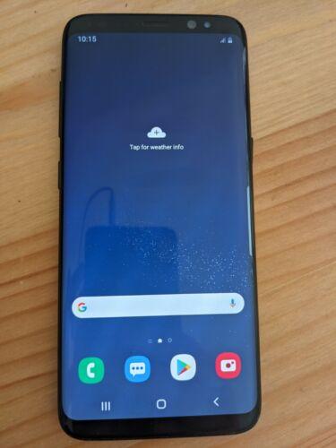 Android Phone - Samsung Galaxy S8 - 64GB - Midnight Black Smartphone