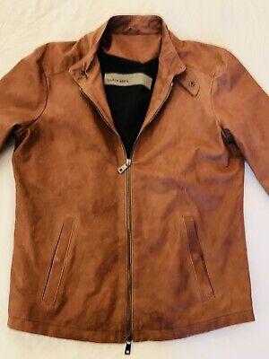 Giorgio Brato. Brown Leather Jacket