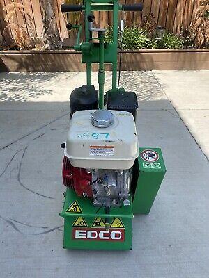 Edco Scarifier Cmp-8-9h Concrete Grinder Walk Behind