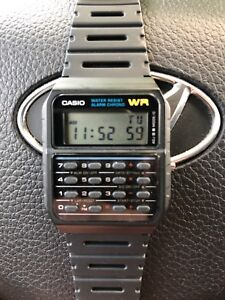 Casio calculator watch trade