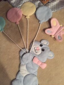 Infant wall hanging