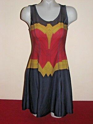 Hot Topic Wonder Women Reversible Dress Womens Size Small NEW
