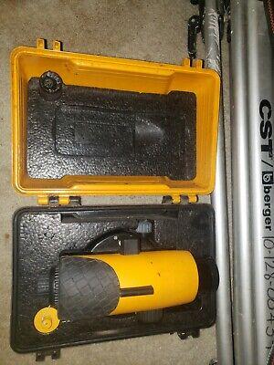Cst Berger 3 Piece Sight Surveying Leveling Kit Tripodlevelortape