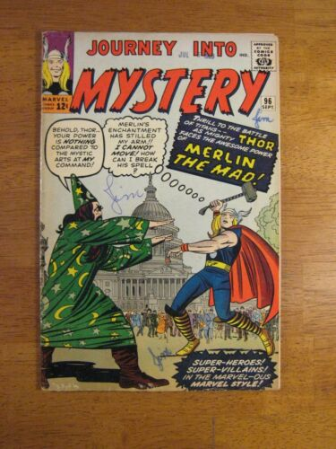 JOURNEY INTO MYSTERY/THOR #96 (FN+) Bright, Colorful & Glossy!