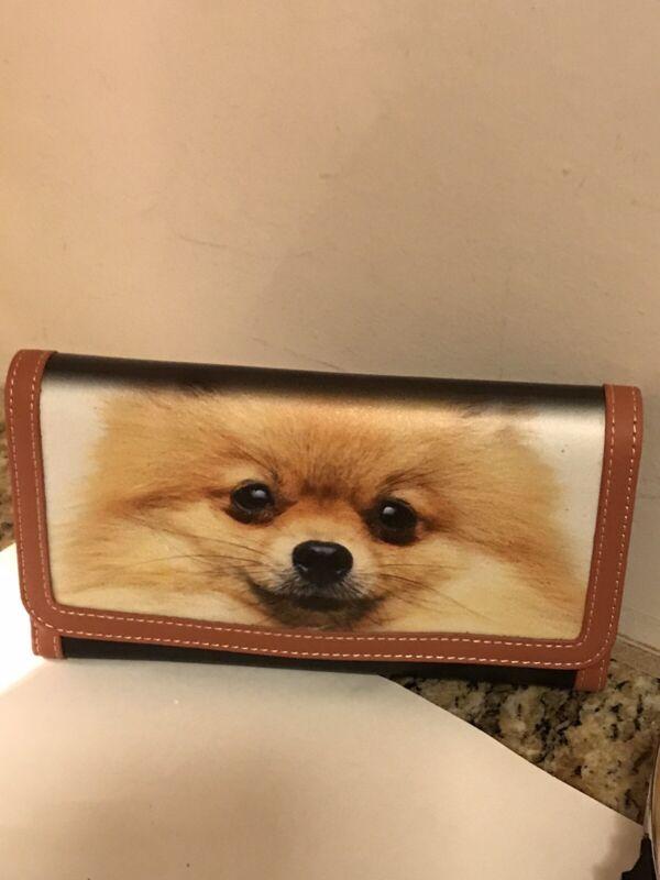 Pomeranian Dog Wallet