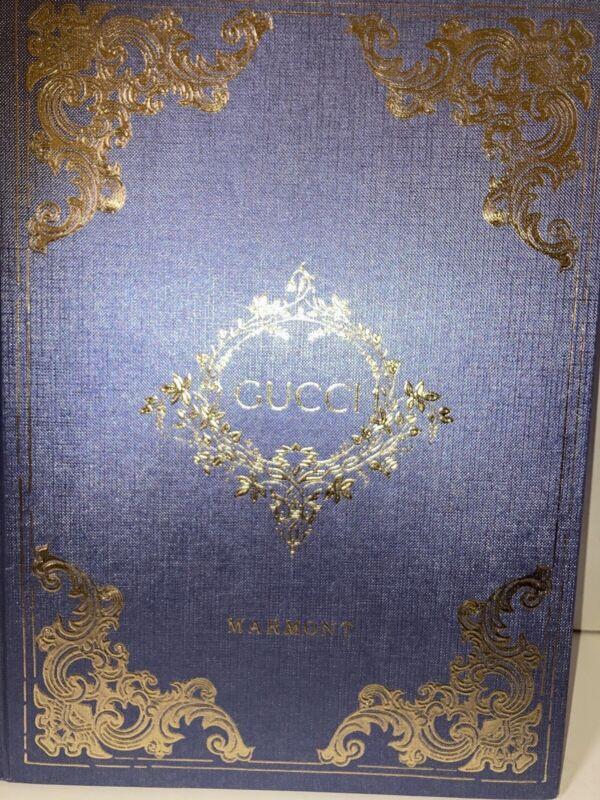Gucci Marmont Collection Hardback Catalog Book. Circa 2019