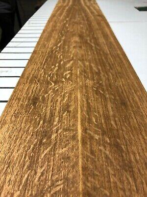 English Brown Oak Wood Veneer 2 Sheets 97 12 X 5 78 714i