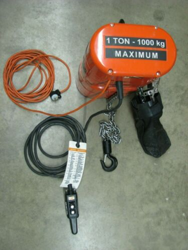 CM Lodestar 1 Ton Electric Chain Hoist 16