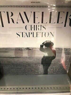 NEW TRAVELLER CHRIS STAPLETON VINYL LP - MERCURY RECORDS