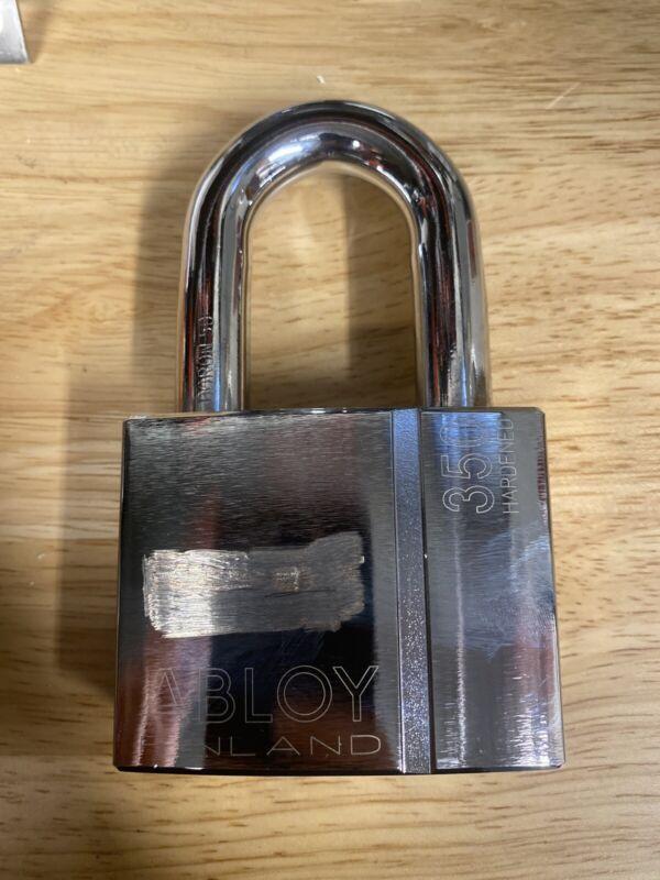"NIB ABLOY Keyed Padlock 2-53/64""W, PL350E/50"