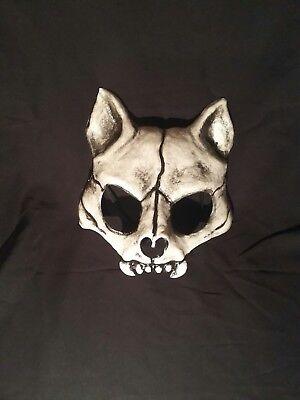 Cat skull mask, kitty cat, masquerade, carnival, mardi gras, venetian - Mardi Gras Cat Mask