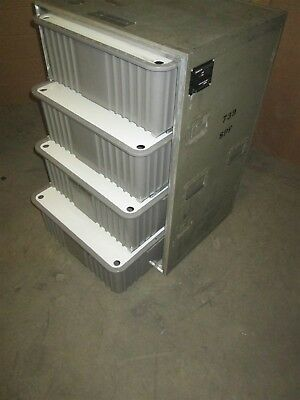Job Box 26x22x38 Al Garrett Portable Work Station Office Drawer Cabinet Case